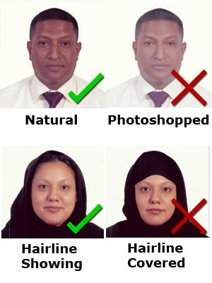 U.S. Nonimmigrant Visas - DS-160 Photo Requirements Diversity visa photo requirements